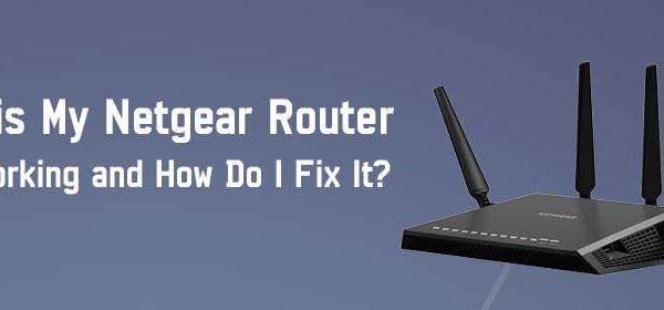 Routerlogin net not working